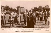 Carlisle Historical Pageant postcard #24