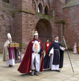 Arbroath Abbey re-enactment 6 April 2016