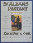 Poster advertising 1907 pageant