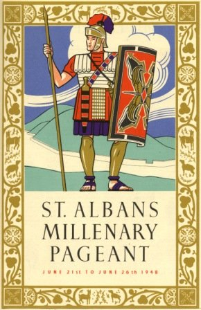 Poster advertising the St Albans Millenary Pageant