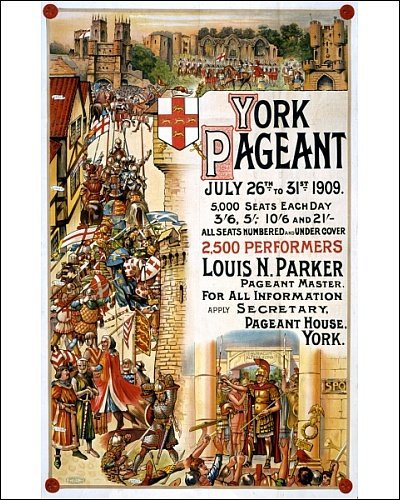 York Pageant 1909: advertisement