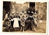 Children at Framlingham Castle Pageant, 1931