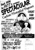 Carlisle Pageant 1977, advert