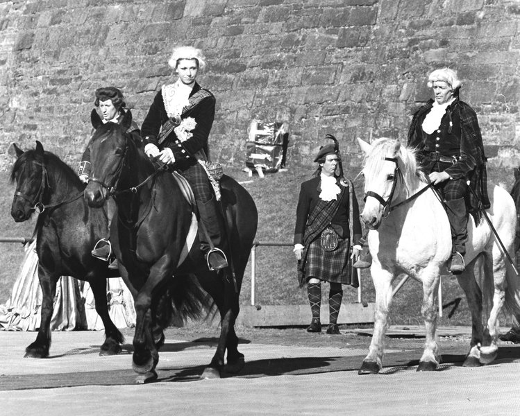 Performer in the role of Bonnie Prince Charlie, Carlisle pageant 1977