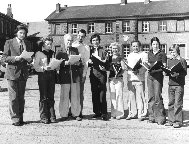 voice artists, Carlisle 1977