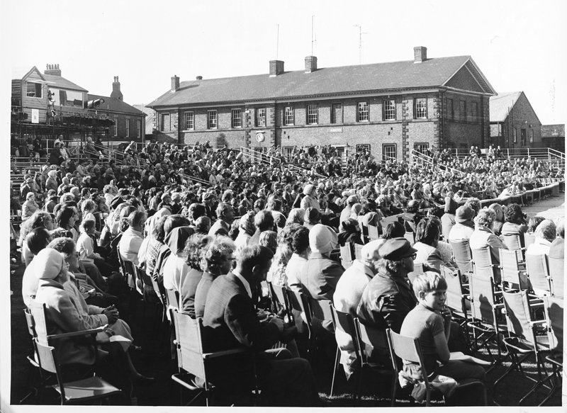 Audience at 1977 Carlisle pageant
