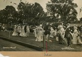 Julian Mockford in the Minuet Episode VII  Bath Pageant 1909
