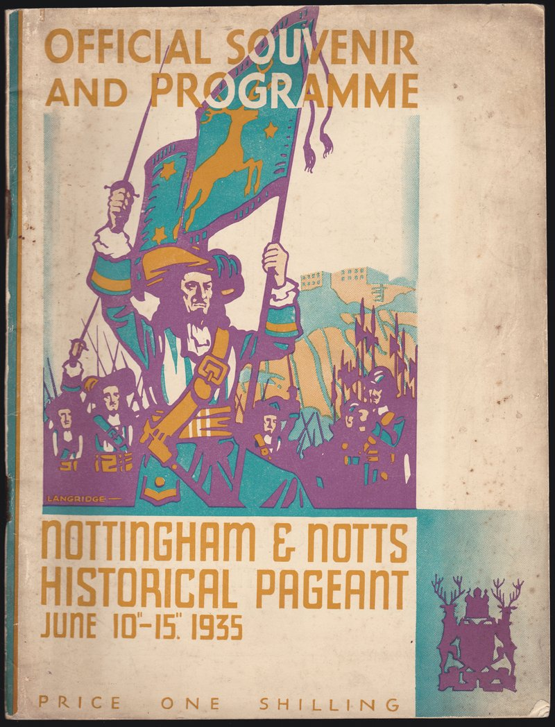 Nottingham Pageant 1935 Souvenir