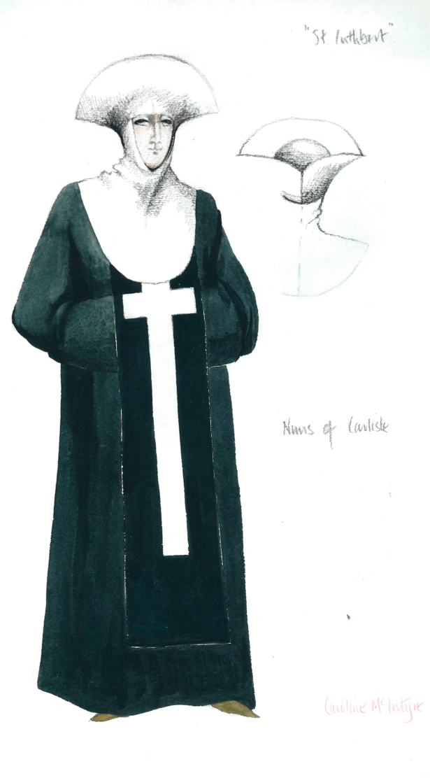 Costume illustration, Carlisle, 1977