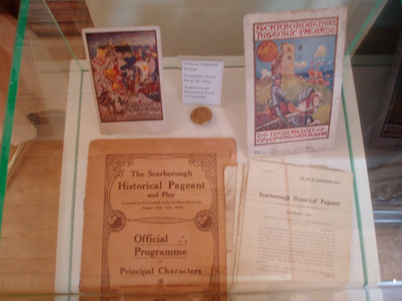 Scarborough Exhibition: Souvenirs and publicity