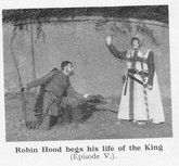 Robin Hood in the Nottingham Pageant 1935