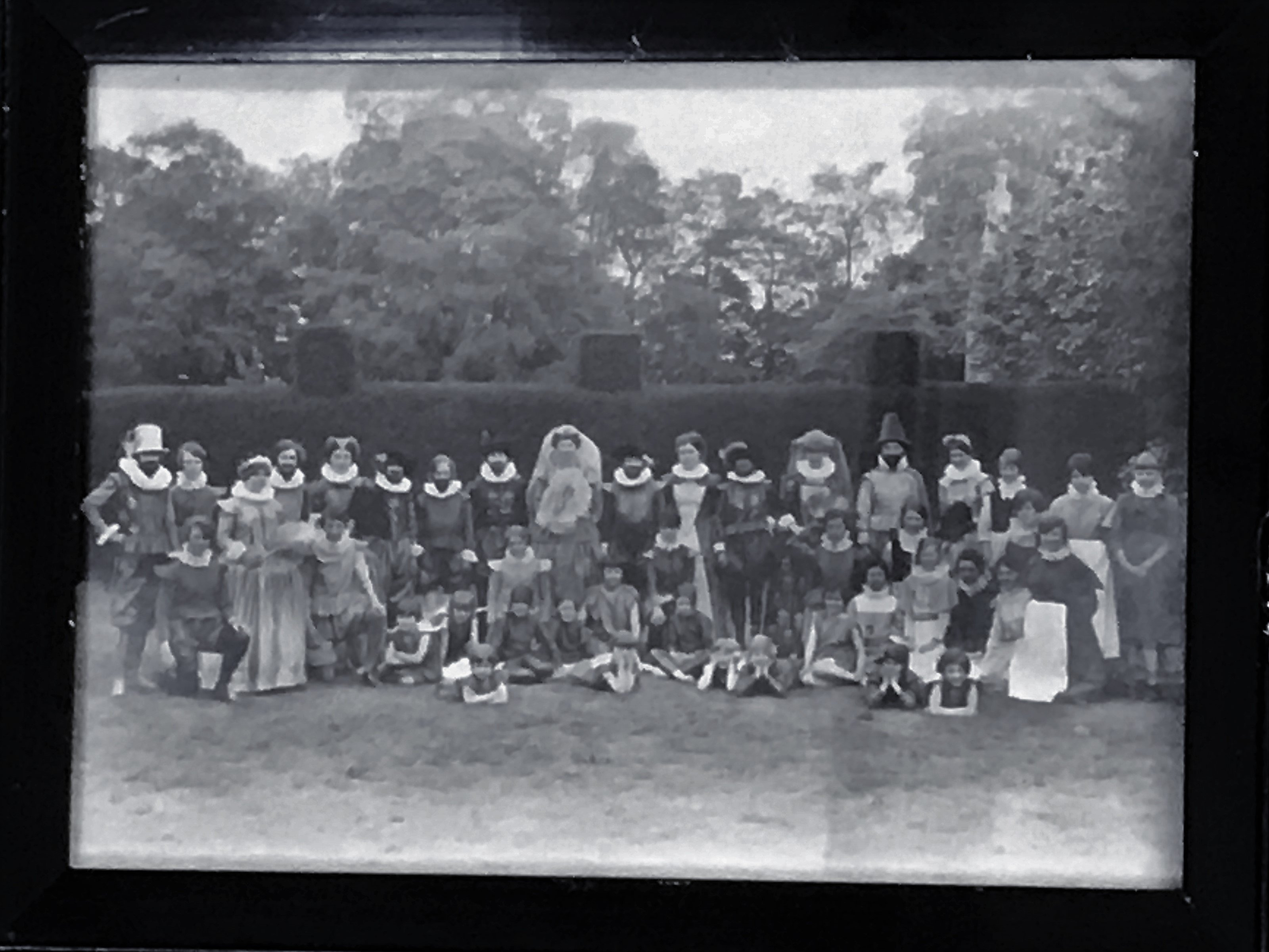 Stamford High School for Girls pageant 1927