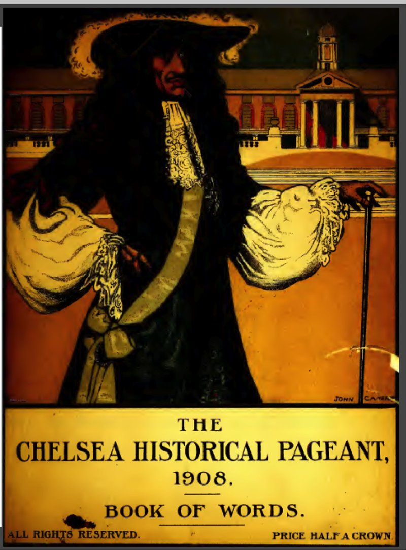 The Chelsea Historical Pageant, 1908