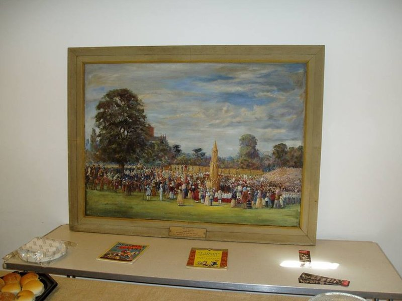 Painting of the St Albans Pageant